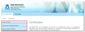 certificados fnmt chrome