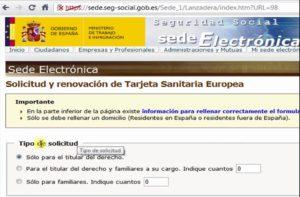 donde renovar la tarjeta sanitaria europea