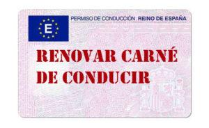 renovar carnet de conducir barcelona barato